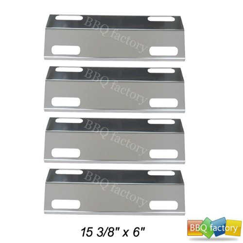 99351(4-Pack) Stainless Steel Heat Plate Replacement For Select Ducane Gas Grill Models