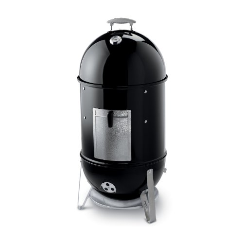 Weber 721001 Smokey Mountain Cooker 18-1/2-Inch Charcoal Smoker, Black