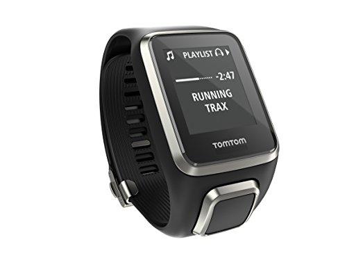 TomTom Spark Cardio+Music Premium Edition Orologio GPS per il Fitness, Lettore Musicale Integrato, Cardiofrequenzimetro Integrato, Large, Nero