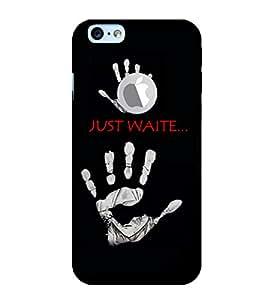 PrintVisa Quotes & Messages 3D Hard Polycarbonate Designer Back Case Cover for Apple iPhone 6 Logo