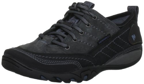 Merrell Women's Mimosa Black Lace Ups Trainers J68166 7 UK