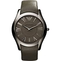 Emporio Armani Super Slim Leather Mens Watch AR2057