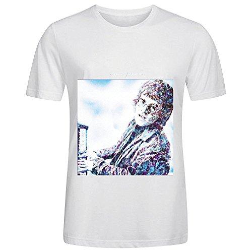 elton-john-empty-sky-tour-pop-men-o-neck-music-tee-shirts-white