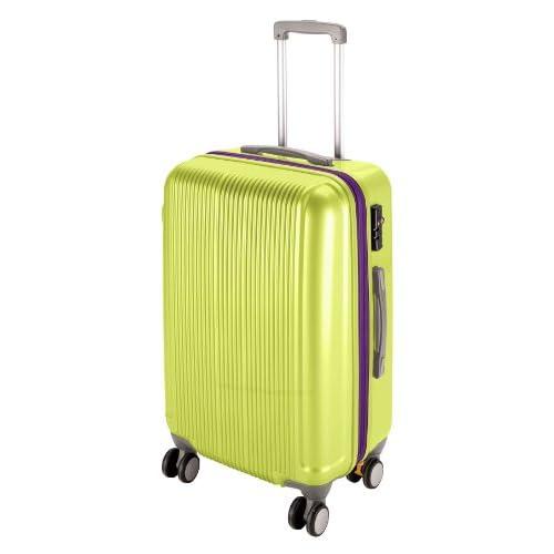 キャプテンスタッグ(CAPTAIN STAG) グレル トラベルスーツケース TSAロック付きWFタイプ M アップルグリーン UV-35
