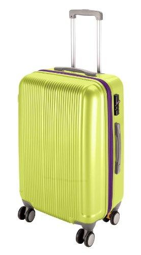 キャプテンスタッグ(CAPTAIN STAG) グレル トラベルスーツケース TSAロック付きWFタイプ S アップルグリーン UV-36