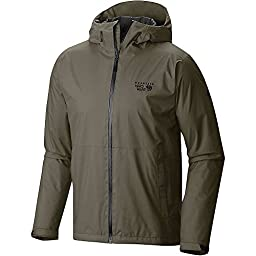 Mountain Hardwear Finder Jacket - Men\'s Stone Green Medium