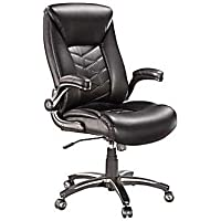 Staples Cermeno Bonded Leather Managers Chair (Brown)