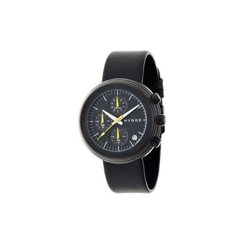 腕時計 HYGGE Watch - 2312 Series - Mesh - Black/Black【並行輸入品】