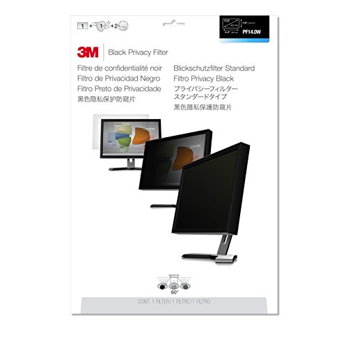 3M PF14.0W9 Privacy Filter for Widescreen Laptop 14.0 inches