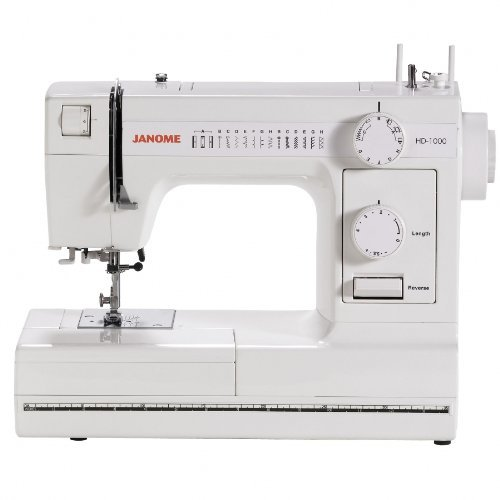 Janome HD1000 Heavy-Duty Sewing Machine with 14 Built-In Stitches (Janome Sewist 500 compare prices)