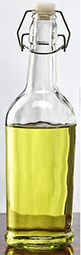 Circleware Glass Bottle with Hermeic Lid, 17 Ounce, Milk Olive Oil Water Bottle Dispenser (Carafe With Chalkboard compare prices)