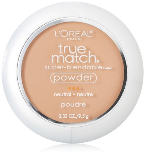L'Oreal Paris True Match Powder, True Beige, 0.33 Ounces