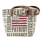 Freedom Shoulder Tote Bag by VHC Brands Inc.