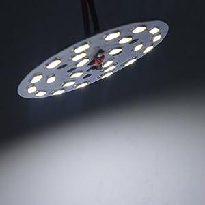 led lampen test andoer andoer 12w rund 5730 smd lampe. Black Bedroom Furniture Sets. Home Design Ideas