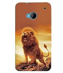 MakeMyCase Lion case For HTC One M7