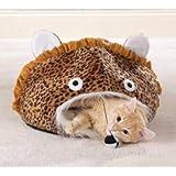 Meow Town Jungle Leopard Print Cat Cave