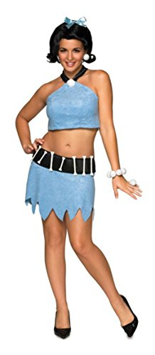 Rubies Womens Flintstone Cave Girl Betty Rubble Halloween Themed Fancy Costume