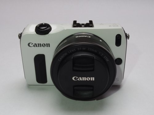 Canon EOS M 18.0 MP Compact Systems Camera with 3.0-Inch LCD and EF-M 22mm STM Lens (White). Special Offers