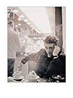 Artopweb Panel Decorativo Stock James Dean NYC 1955 60x80 cm