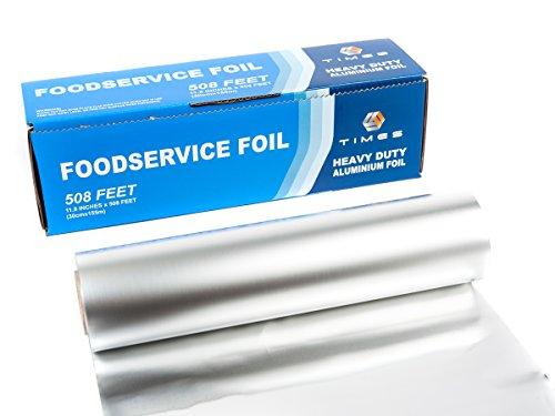 Times Premium Heavy Duty Aluminum Foil Roll 12