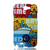Bright Color Cartoon Hard Shell Cover for Samsung Galaxy Note II N7100 - Bedtime Baby