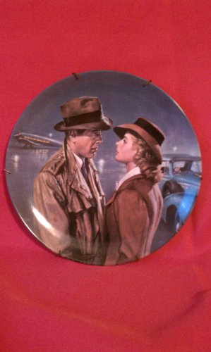 Casablanca Humphrey Bogart Limited Edition Plate