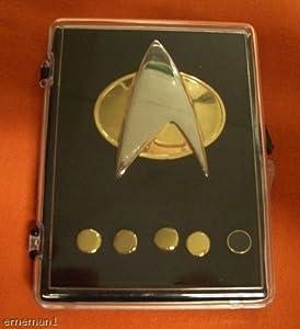Star Trek Next Generations Communicator Pin Set
