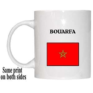 "Amazon.com: Morocco - ""BOUARFA"" Mug: Kitchen & Dining"