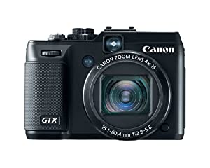 Canon G1 X 14.3 MP CMOS Digital Camera with 4x Wide-Angle Optical Image Stabilized Zoom Lens Full 1080p HD Video and 3.0-Inch Vari-Angle LCD