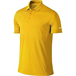 Nike Golf Victory Solid Polo (University Gold/White) M