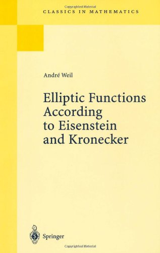 Elliptic functions according to Eisenstein and Kronecker