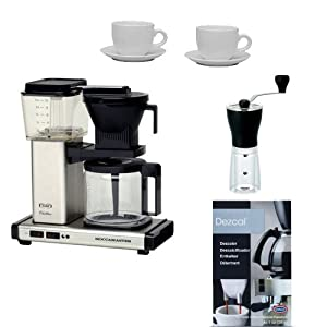 Technivorm Moccamaster Coffee Maker With Glass Carafe Brushed Silver : Amazon.com: Technivorm 9592 Moccamaster Kb-741 Coffee Brewer & Glass Decanter Brushed Silver ...