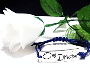 One Direction Blue Silver Friendship Bracelet Love Forever 1d Boy Band The Best Gift- One Any Size Adjustable