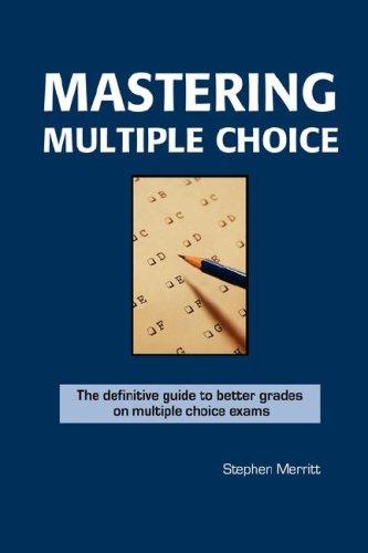 Mastering Multiple Choice097401110X : image
