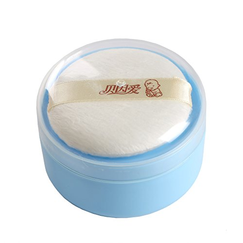Topwon 3 5 Baby After Bath Powder Puff Kit Container