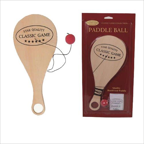 Classic Games, Star Quality Paddle Ball 12 Inch