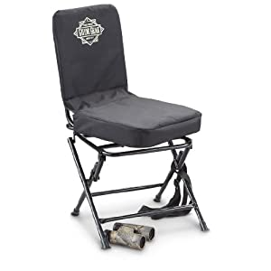 Amazon Com Guide Gear Swivel Hunting Chair Black