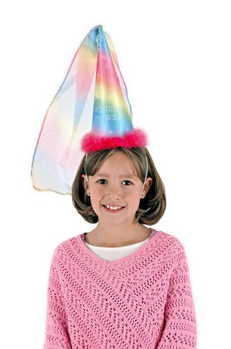 Elope Fancy Birthday Princess Cone Rainbow