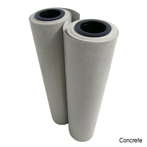 Terra-Flex Premium Rubber Flooring Rolls - 2MM x 4FT x 10FT Roll - Concrete