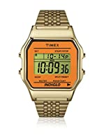TIMEX Reloj de cuarzo Unisex Unisex Timex 80 Classic Dorado / Naranja 34 mm