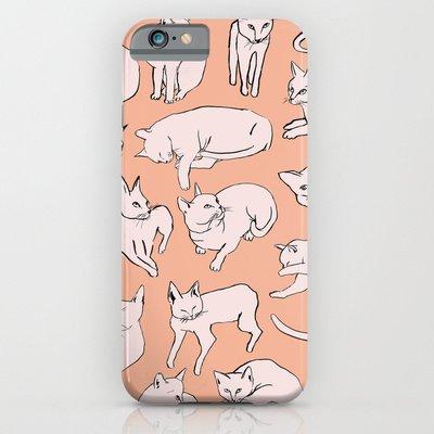 society6(ソサエティシックス) iPhone6(4.7インチ)ケースピカソキャット  Picasso Cats並行輸入品