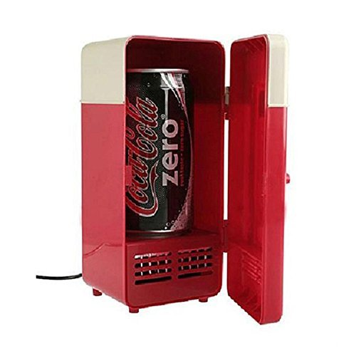 Office USB Mini Fridge Drink Cooler Freezer Icebox for PC Laptop Desktop Netbook (Laptop Cooling Freezer compare prices)