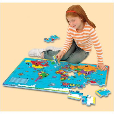Picture of Fun Educational Insights 4810 World Foam Map Puzzle (B003L55Z42) (Floor Puzzles)