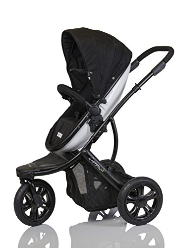 guzzie+Guss Connect+3 Stroller, Black - 1