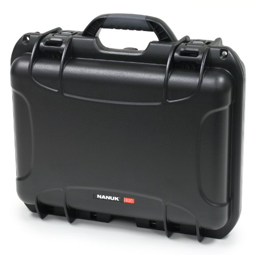 Nanuk 920 Case With Cubed Foam -Black