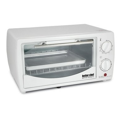 0.32 Cubic Foot Toaster Oven Broiler Color: White (Small Toaster Oven White compare prices)