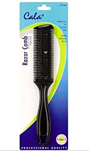 Cala 2-Sided Hair Razor Comb Cutting Trimmer