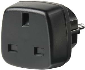 Brennenstuhl Reisestecker/-adapter GB - Schutzkontakt schwarz, 1508530