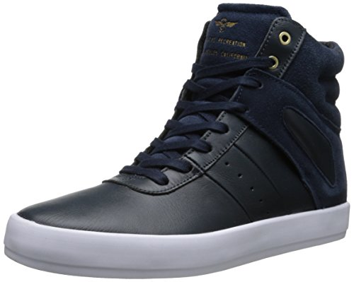 Creative Recreation Men's Moretti Fashion Sneaker,Navy/White,9 M US