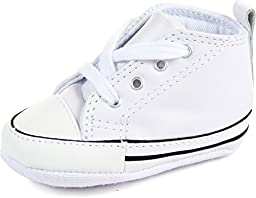 Converse First Star White Leather 81229 1 Crib